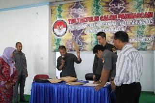 Penyelenggaraan Ujian Tertulis Pada Seleksi Anggota Panwascam Di Kabupaten Banjarmasin