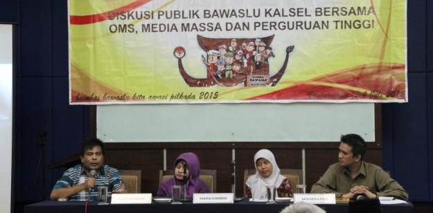 Diskusi Publik Dengan Organisasi Masyarakat Sipil, Media Massa dan Perguruan Tinggi