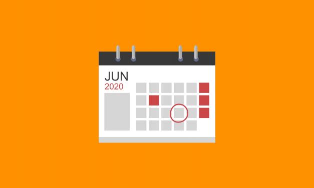 Agenda Juni 2020